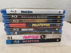 NEW SEALED 8 Blu Ray Movies for Sale in Fresno, CA