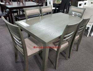 wooden dining table set with 6 chairs for Sale in Corona, CA