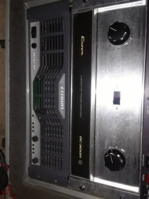 Vintage crown and Ashley power amplifiers for Sale in Denver, CO