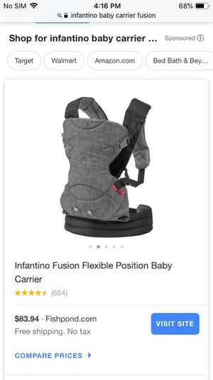 Baby carrier for Sale in Houston, TX