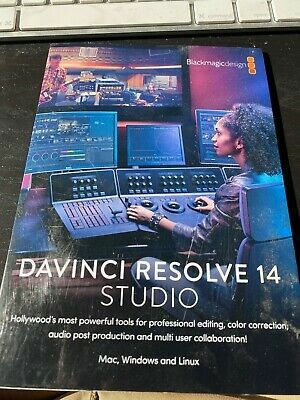 Da Vinci Resolve 14 Video Editing Software for Sale in Fort Lauderdale, FL