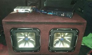 Powerful car audio for Sale in Dolton, IL