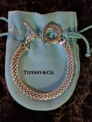 Tiffany Somerset Mesh Toggle Bracelet for Sale in Rancho Cucamonga, CA