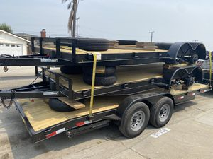 2021 NEW never used Car hauler / trailer / utility use for Sale in Anaheim, CA