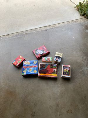 Board games and a puzzle (barely used) for Sale in Chino Hills, CA