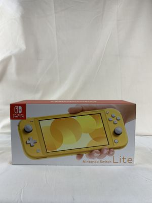 Nintendo Switch Lite Handheld Console 32GB - Yellow - Brand New - In Stock Now! for Sale in Peoria, IL