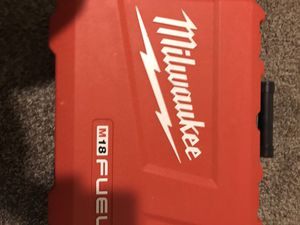 Milwaukee Fuel 18 volt hammer drill for Sale in CLACKAMAS, OR