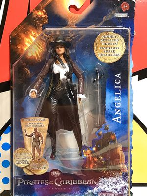 JAKKS PACIFIC DISNEY PIRATES OF THE CARIBBEAN ANGELICA ACTION FIGURE for Sale in Hesperia, CA