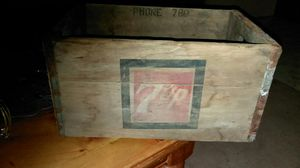 Antique wooden soda crate for Sale in Penns Creek, PA