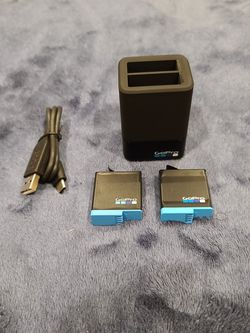 GoPro Hero 8 Charger + 2 Batteries for Sale in Portland,  OR
