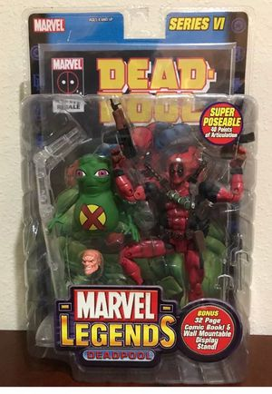 Deadpool Series VI Marvel Legends Collectible Action Figure for Sale in Seffner, FL