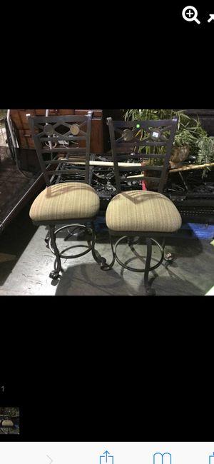 Pair of swivel barstools for Sale in Las Vegas, NV