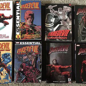 Daredevil 13 TPB Graphic Novel Lot Marvel Essential Stan Lee Steve Ditko Frank Miller Bendis Maleev for Sale in San Diego, CA