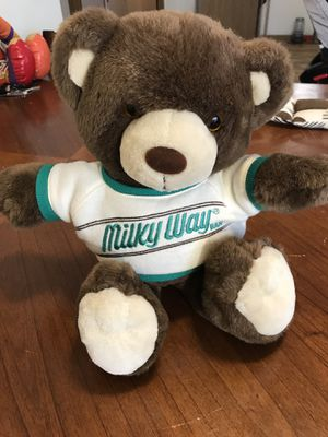 "HEARTLINE 1987 vintage 16"" MILKY WAY TEDDY BEAR Plush for Sale in Murray, UT"