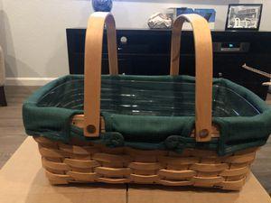Longaberger Small Market Basket for Sale in Chandler, AZ