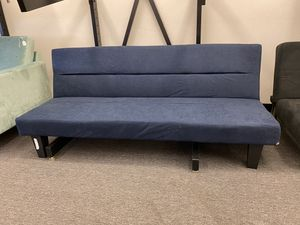 Scratch and Dent Navy Blue Sofa KEBO Futon for Sale in Houston, TX
