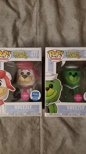 Breezily and Sneezly Flocked Funko Shop 2000 piece Edition for Sale in Newberg, OR
