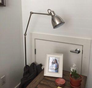 Adjustable silver west elm floor lamp for Sale in Austin, TX