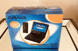 Craig Portable DVD/CD player for Sale in Tamarac, FL