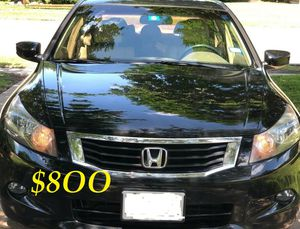 ✅✅✅URGENTLY $8OO I sell my family car 2OO9 Honda Accord Sedan EX-L Runs and drives great.Clean title!!✅✅✅ for Sale in Chicago, IL