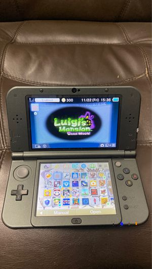 3ds XL with lots of games for Sale in Fresno, CA