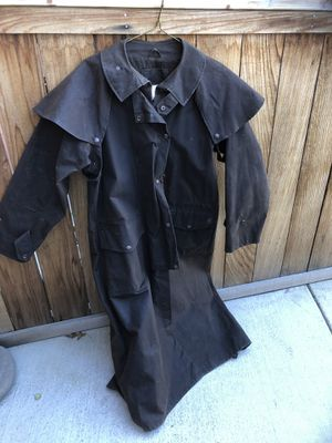 Oilskin Riding Duster for Sale in Bend, OR