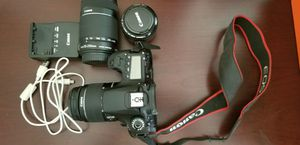 Canon EOS 60D with lenses for Sale in Oakland, CA
