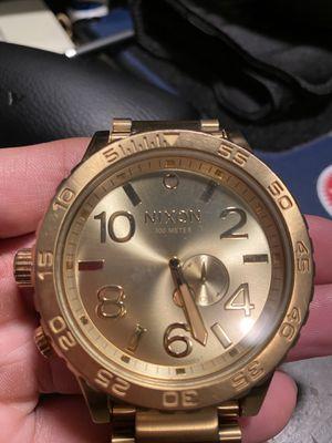 Gold Nixon 51-30 Watch for Sale in Kennewick, WA