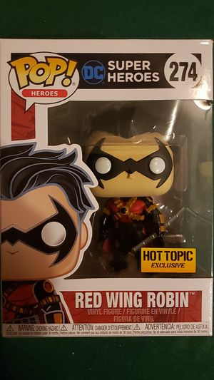 Red wing Robin funko pop hot Topic Exclusive for Sale in Newberg, OR