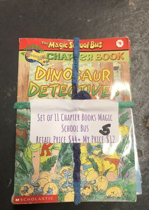 Bundle of Assorted Level M Chapter Books (Magic Tree House and Magic School Bus Spin-Offs) for Sale in Meriden, CT