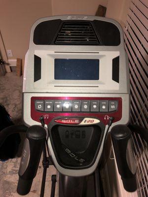 Sole E20 elliptical machine. for Sale in Highlands, TX