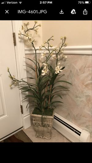 "Plantar - White/Gray (~48"" tall) - beautiful for Sale in Manalapan Township, NJ"