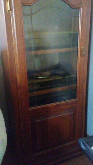 Wood stereo cabinet for Sale in Dixon, MO