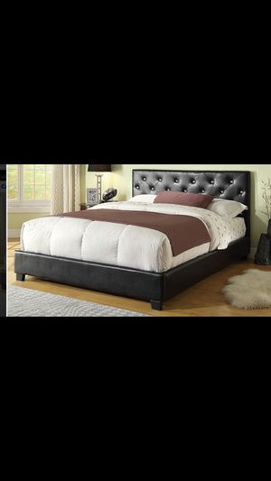 Queen bed frame with mattress included 350$ only delivery available for Sale in Chicago, IL