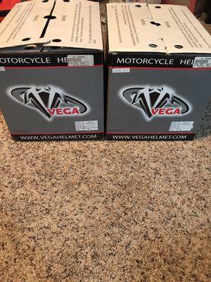 Vega motorcycle helmets small and medium for Sale in UPPER ARLNGTN, OH