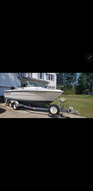 1979 pursuit 22ft deck fishing boat for Sale in Midlothian, VA