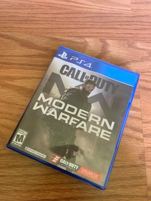 PS4 modern warfare for Sale in San Marcos, CA