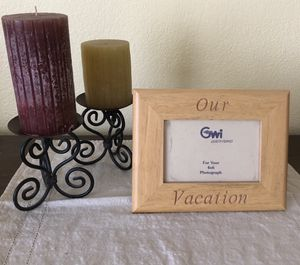 Candles, frame for Sale in Antioch, CA