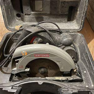 Craftsman Circular Saw W/ Case for Sale in Philadelphia, PA