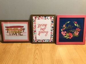 Set of 3 Target Hanging Wall Decor for Sale in Bowie, MD