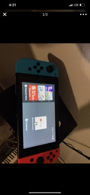 NEED GONE PICKUP NINTENDO SWITCH WITH ZELDA CASE AND SUPER SMASH BROS for Sale in Queen Creek, AZ
