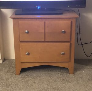 Two drawer drawer/side table for Sale in Denver, CO