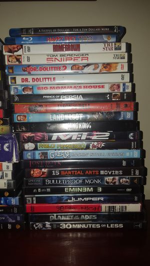 Dvd bundle for Sale in Llano, CA