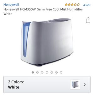 Honeywell mist humidifier with 3 filter for Sale in New York, NY