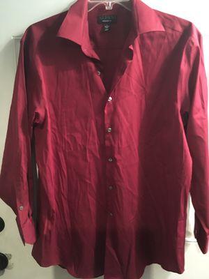 Alfani Dark Red Dress shirt for Sale in West Covina, CA