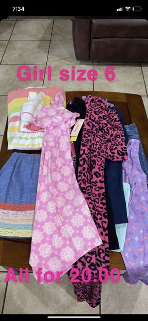 Girl size 6 clothing for Sale in Irving, TX