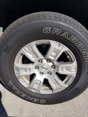 Original Nissan Rims and Tires for Sale in San Antonio, TX