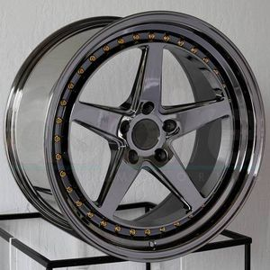 18x8.5 new blk chrome new rims set 5x100 5x114.3 for Sale in Hayward, CA