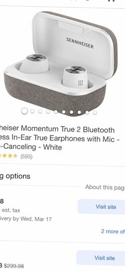 Sennheiser Momentum True 2 Bluetooth. for Sale in Las Vegas,  NV