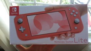 *NEW-NEVER USED* Nintendo Switch Lite Coral for Sale in Streamwood, IL